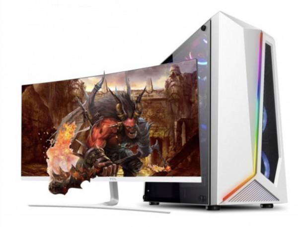 电竞 高配独显/全能游戏电脑/高性价比/24寸ips显示器台式机