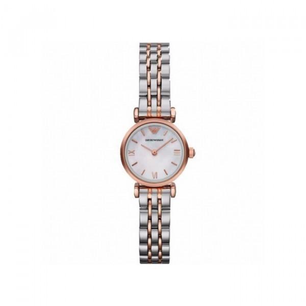 阿瑪尼 女士貝母表盤石英手表 時尚休閑潮流女士手表 租滿買斷 全新憑保