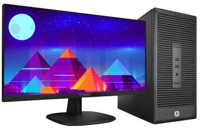 智-惠普HP-I56代 UI设计X19 24寸 台式电脑 可直播可设计