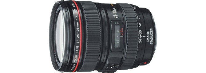 佳能EF 24-105mm f/4L IS USM 红圈镜头