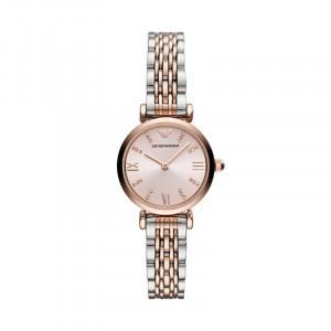 阿玛尼(ARMANI)女士手表小表盘复古经典时尚女表 租满即送