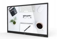 大尺寸多点触控可无线投屏投屏的会议大屏
