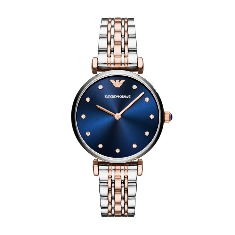 【到期可买断】阿玛尼(Emporio Armani)手表石英女表蓝色个