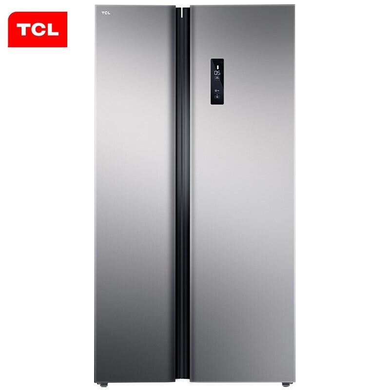 TCL全新升級款521升對開門冰箱風冷無霜 AAT負離子...