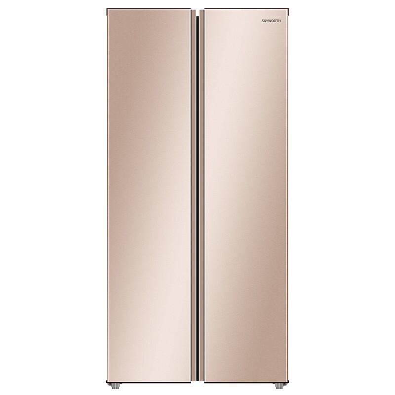创维 风冷无霜对开门家用电冰箱空气净味除菌BCD-481WQ 租满即送