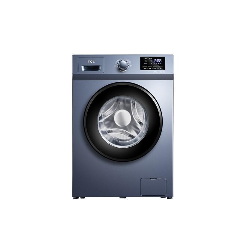 TCL 10公斤洗烘一体双变频滚筒洗衣机 高温蒸煮智慧...