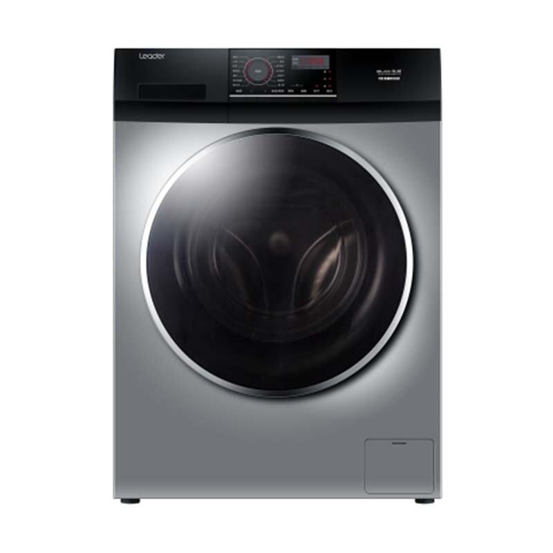 海尔出品10公斤全自动高速变频烘洗一体机滚筒洗衣...