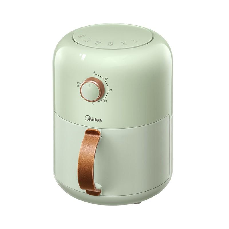 美的 空氣炸鍋 家用多功能無油煎炸鍋 1.8L大容量旋鈕薯條機
