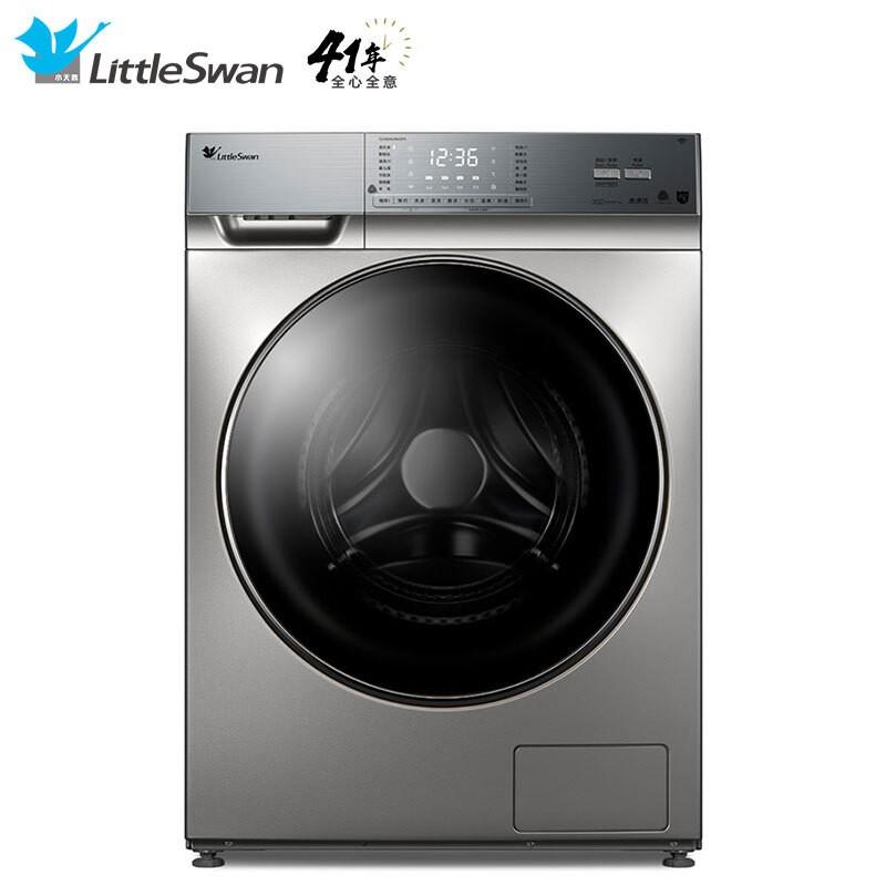 小天鹅 10公斤变频 滚筒洗衣机全自动智能纳米银离...