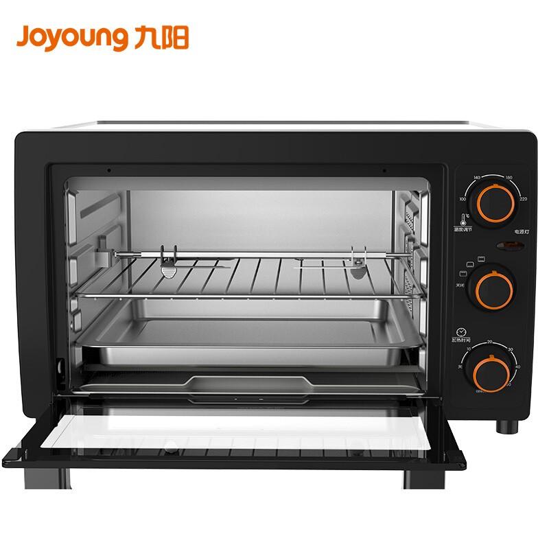 九阳(Joyoung)电烤箱26升L家用多功能烘焙蛋糕蛋挞上下独立控温