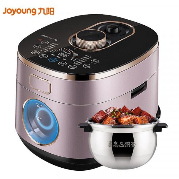 九陽(Joyoung)電壓力鍋電高壓鍋家用5L IH電磁  水冷降壓