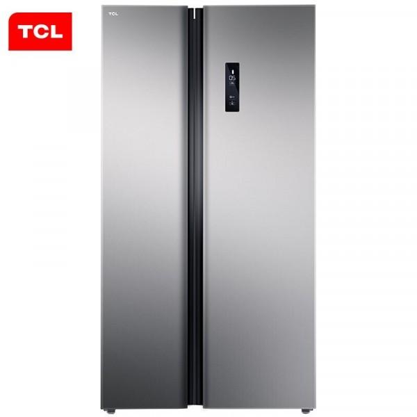 TCL全新升級款521升對開門冰箱風冷無霜 AAT負離子養鮮 租滿即送