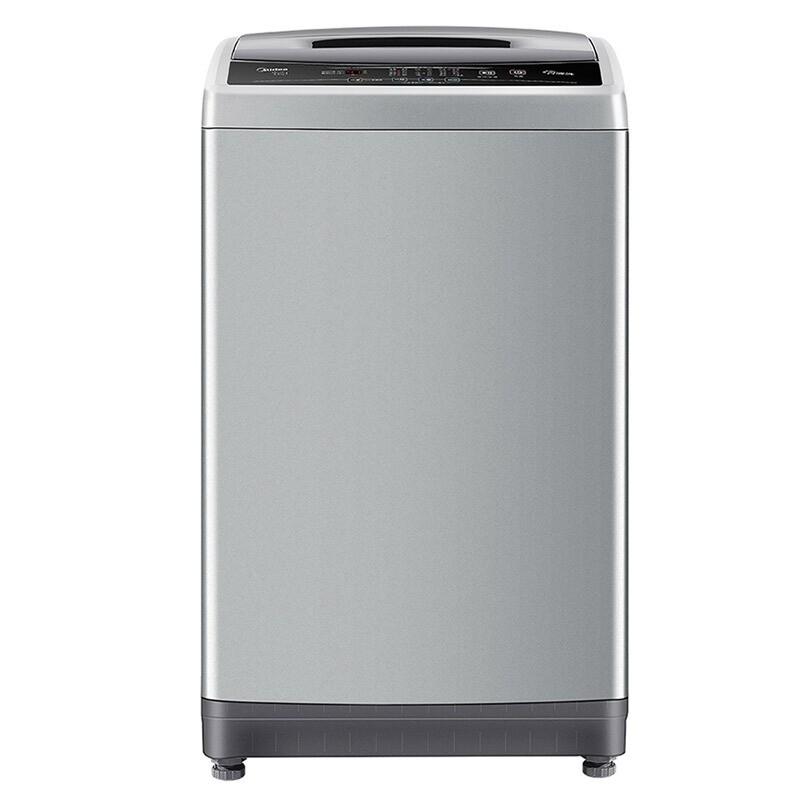 美的 9公斤全自动波轮洗衣机自清洗更洁净自编程随...