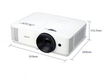 宏碁 (Acer)高亮度高對比度商務投影儀
