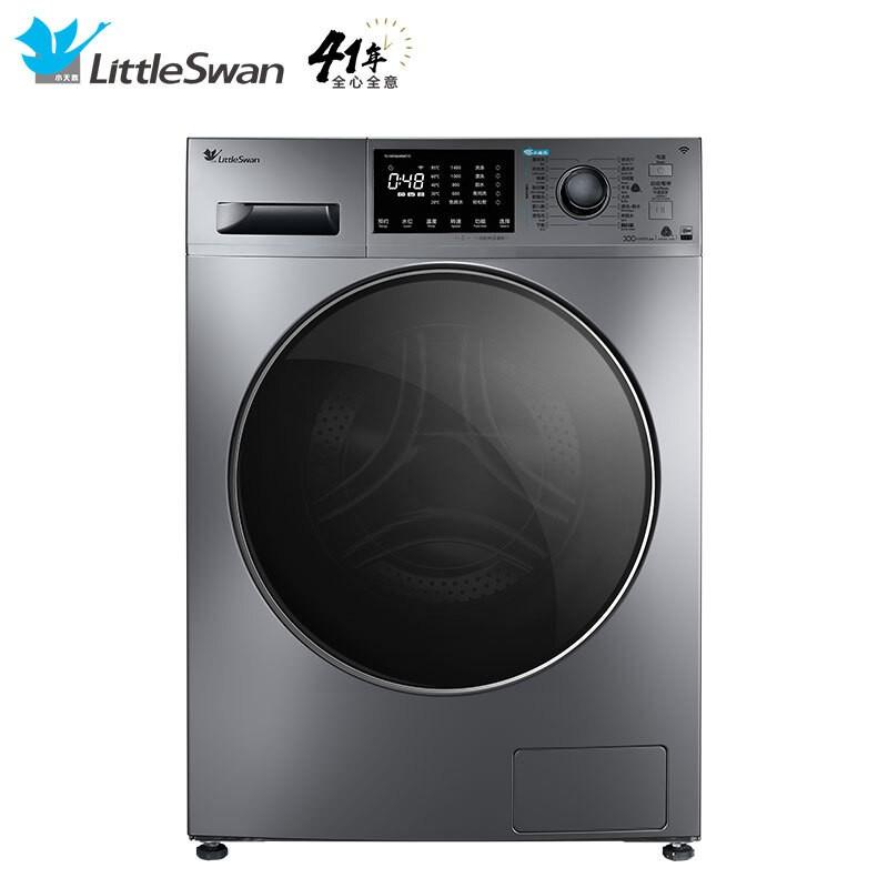 小天鹅 10公斤变频滚筒洗衣机全自动水魔方护色护形...