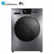 小天鹅 10公斤变频滚筒洗衣机全自动水魔方护色护形智能家电