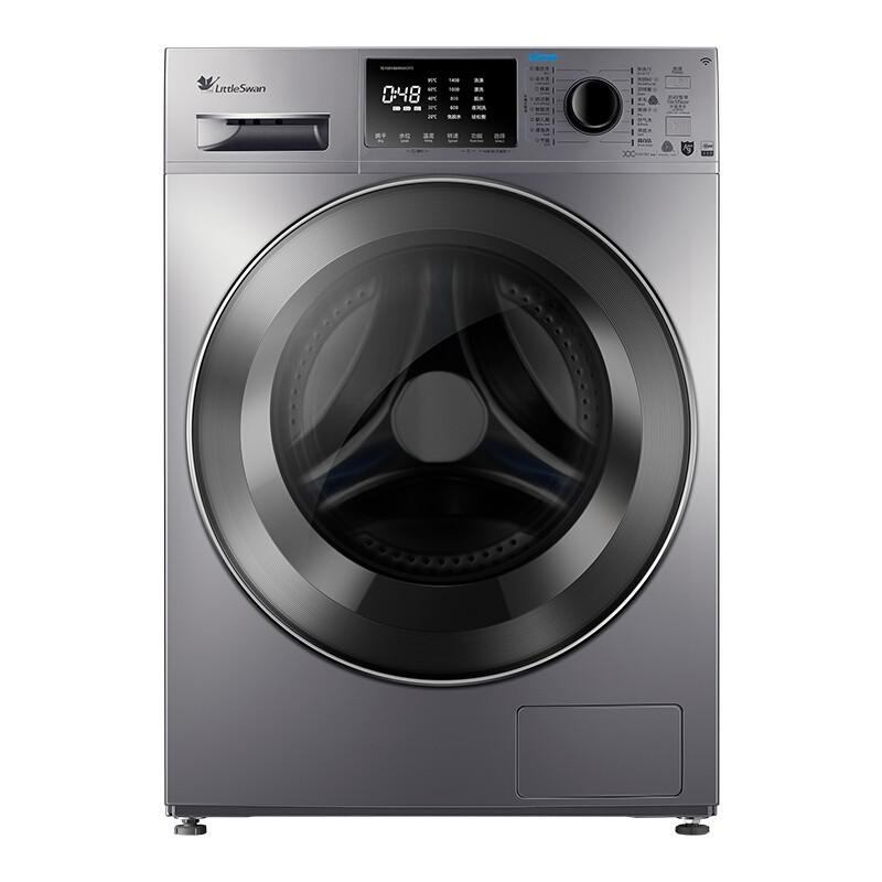 小天鹅 10公斤洗烘一体滚筒洗衣机全自动水魔方护色...
