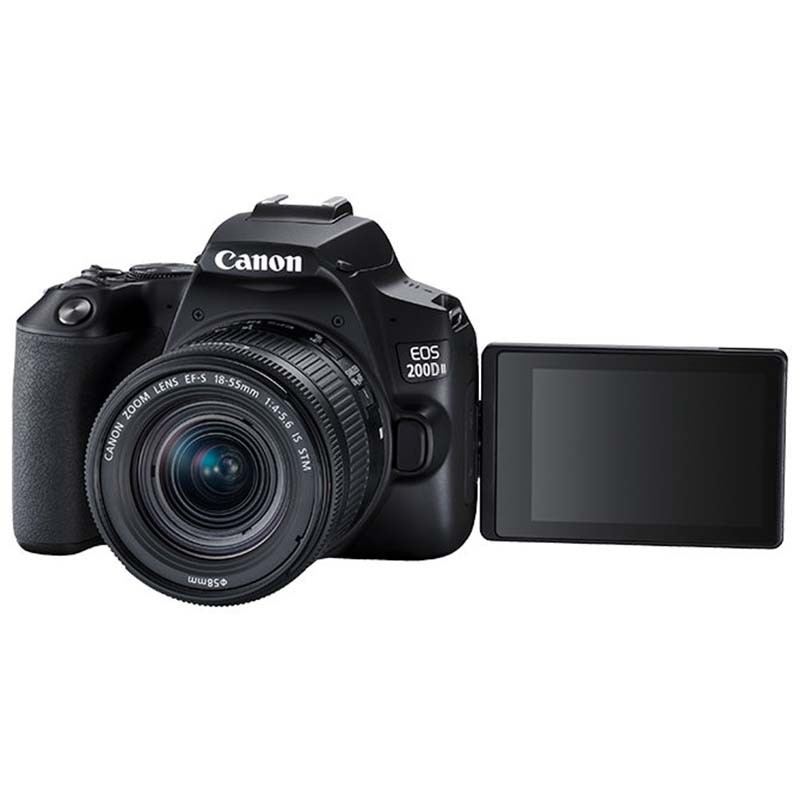 Canon/佳能200d二代單反相機入門級學生款相機數碼高清旅游照相機