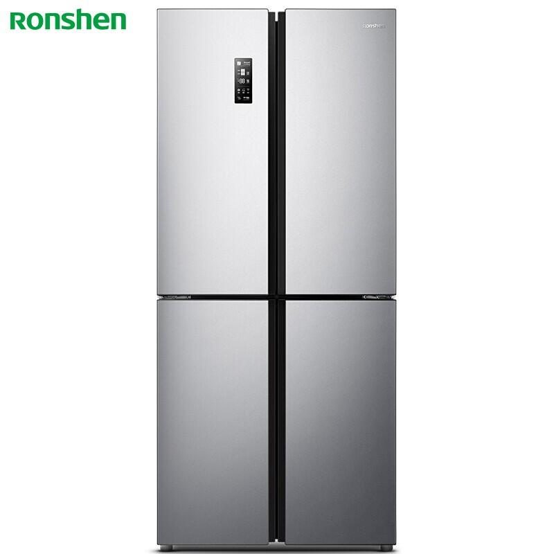 容声 426升十字对开变频冰箱大冷冻室36分贝静音节能保鲜净味