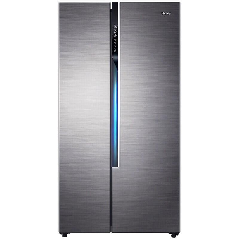 海尔(Haier)520升双变频风冷无霜对开门冰箱
