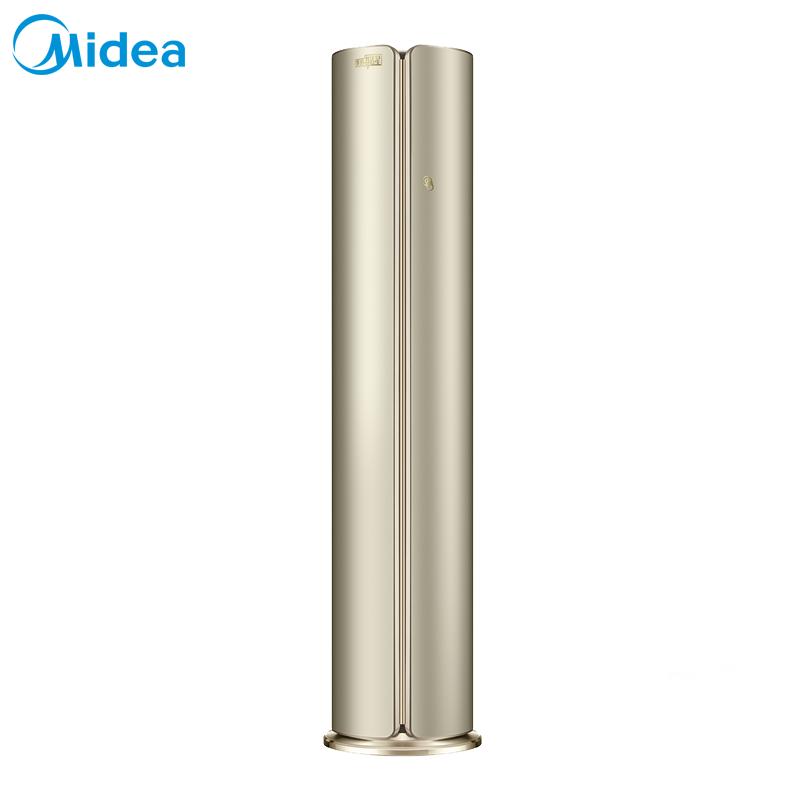 美的 高端3匹無風感舒適星變頻一級能效圓柱立式空調智能WiFi