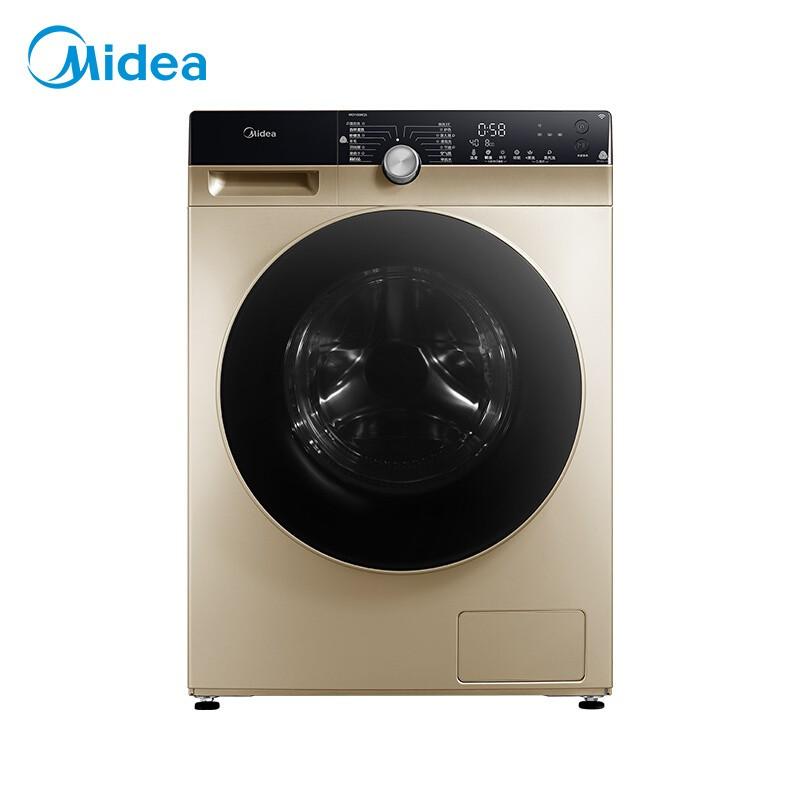 美的 滚筒洗衣机全自动洗烘一体机10公斤变频东芝DD...