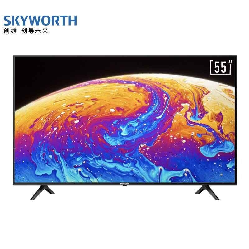 創維 55英寸4K超高清薄款教育電視2+16G內存支持投屏酷開AI系統