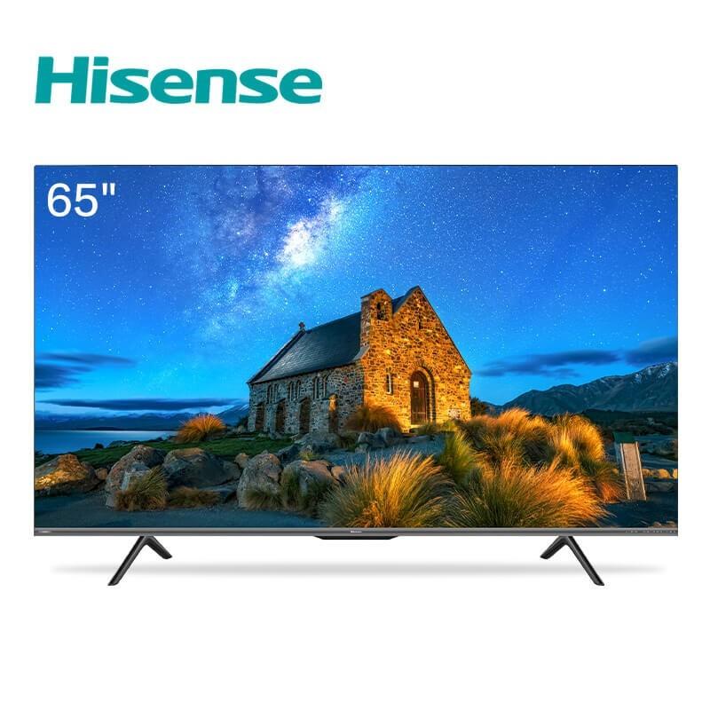 海信 65英寸4K電視HDRAI聲控MEMC防抖ELED全面屏教育電視