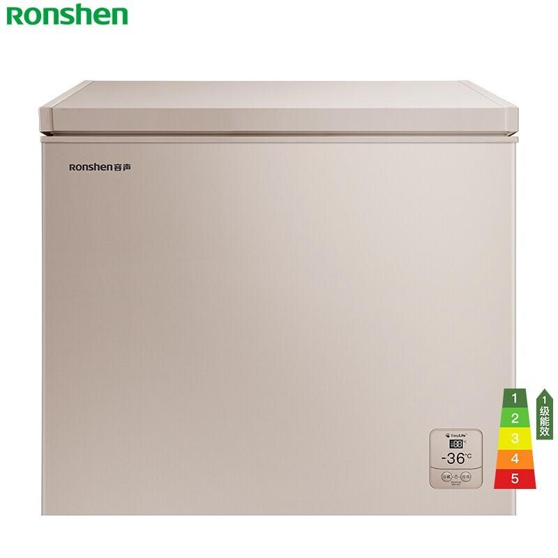 容声 205升冷藏冷冻转换冰柜顶开门家用小冷柜一级...