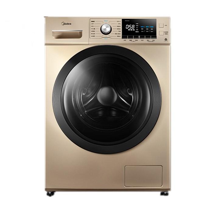 美的 滚筒洗衣机全自动10公斤变频除螨双蒸汽恒温洗...