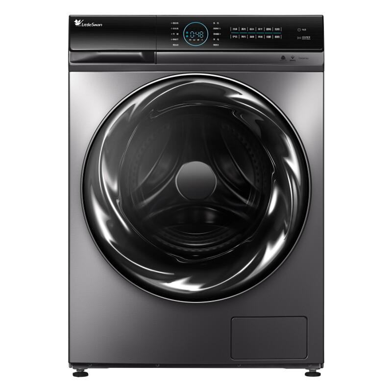 小天鹅 10公斤洗烘一体滚筒洗衣机全自动物理去渍更...