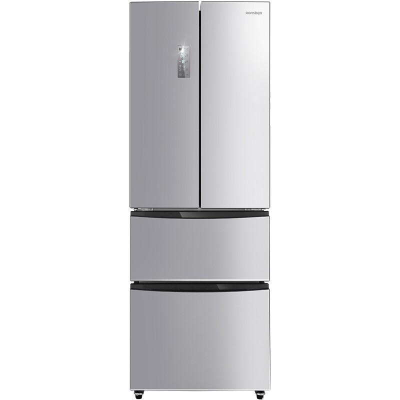 容声 319升多门冰箱变频一级能效风冷无霜变温抽屉流光银