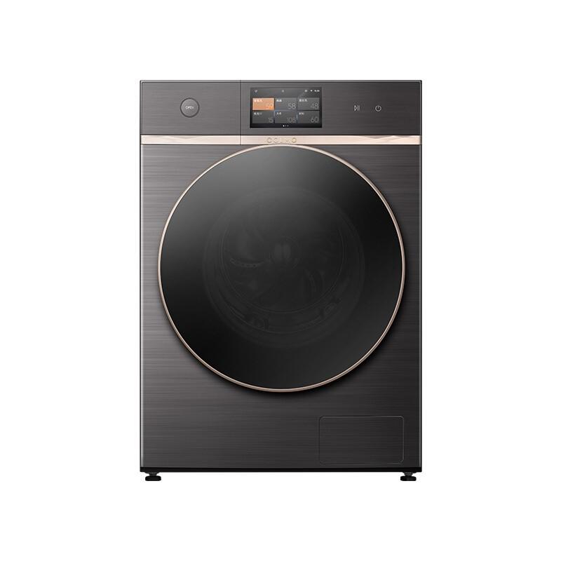 美的 滚筒洗衣机全自动10公斤洗烘一体全时全驱阿尔...