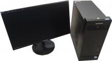 办公电脑I3 2100/8G/SSD20G/21.5LED屏幕/核显