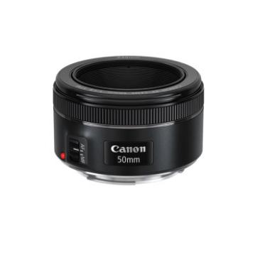 佳能50mm F1.8 STM标准定焦镜头新款三代小痰盂