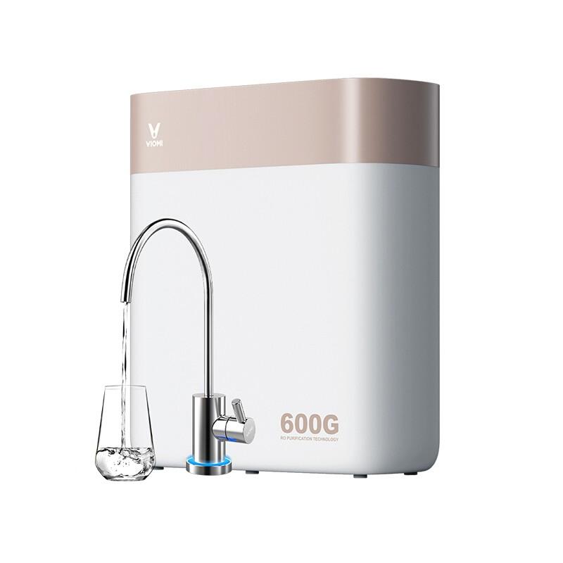 云米 600加侖智能凈水器家用直飲RO反滲透無桶凈水機