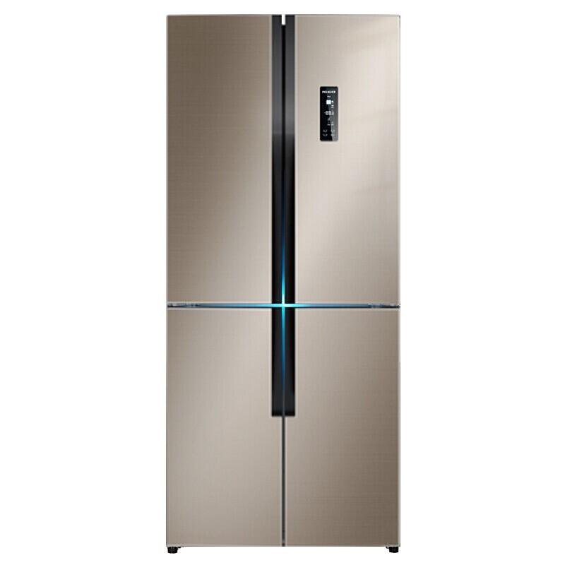 美菱 432升十字对开多门电冰箱双变频一级能效智能APP风冷无霜变温