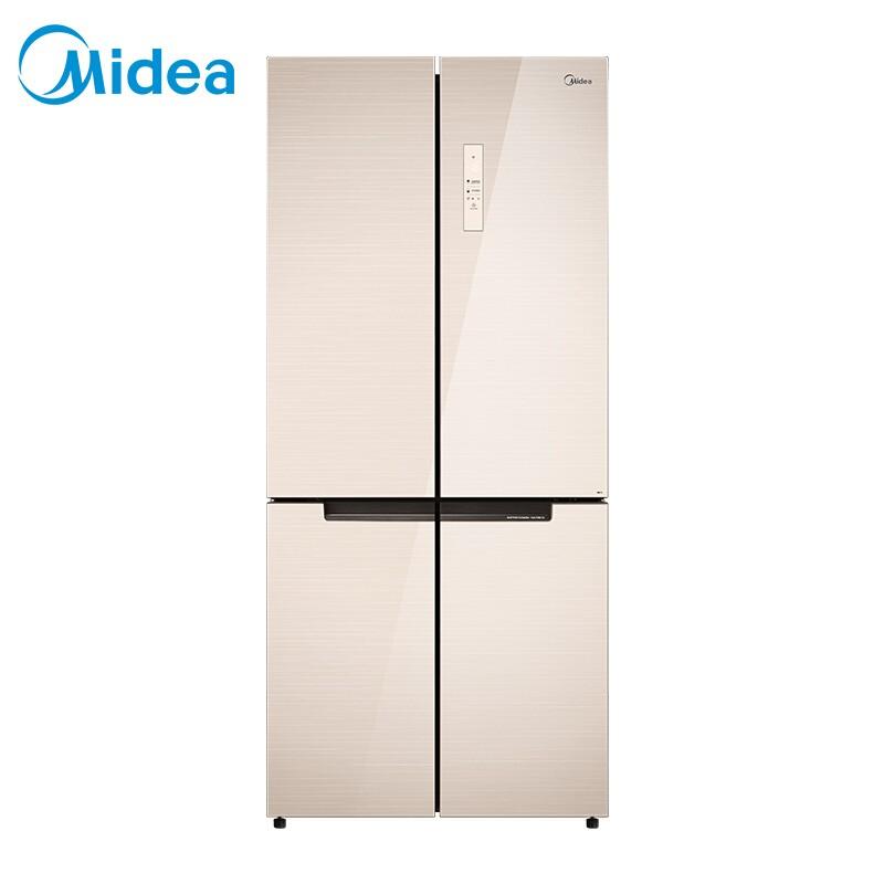 美的 双开门515升十字对开门双变频风冷无霜急速净味多门电冰箱