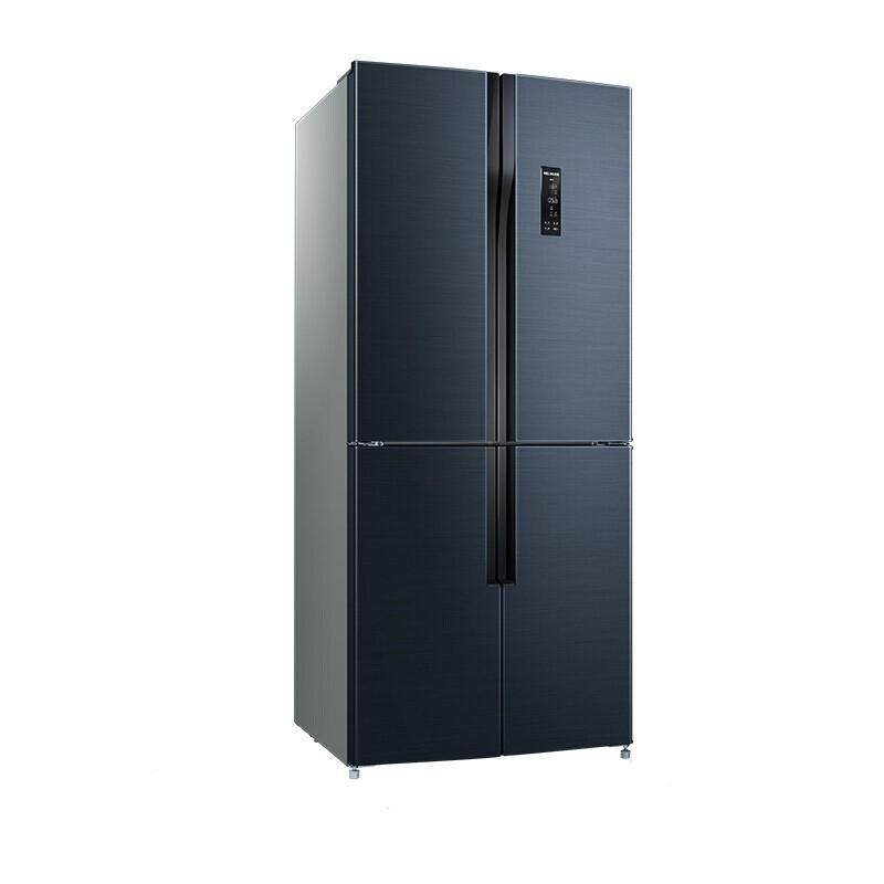 美菱 503升十字對開多門電冰箱M鮮生雙變頻智能APP玫瑰花保鮮33天