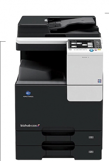 柯尼卡美能達bizhub C226彩色數碼復印機(雙紙盒+送稿器)