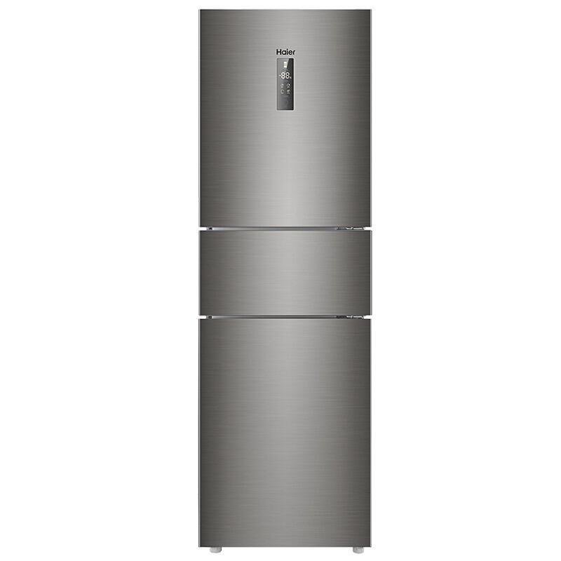 海尔 218升无霜三门冰箱无需除霜润扬食材不风干DEO