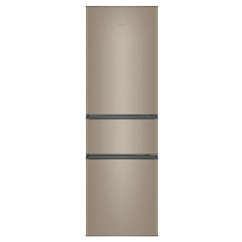 海尔 216升直冷三门冰箱中门软冷冻高品质铝板蒸发器制冷快