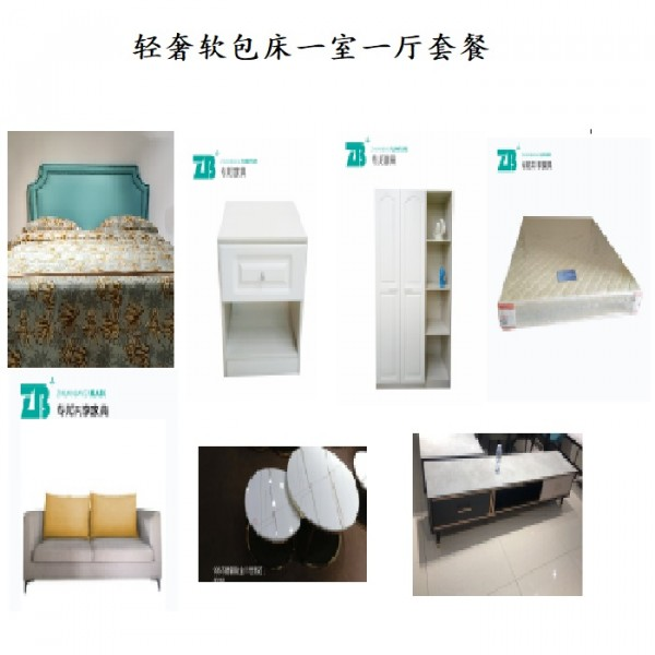 一室一厅 家具租赁   床/柜子/沙发/衣柜/席梦思床垫   专邦家具