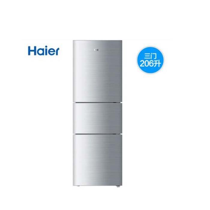 海爾三開門冰箱206升