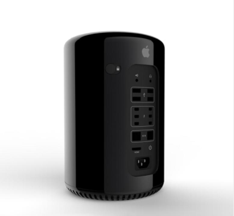Mac Pro垃圾桶 GG2 十二核 64G 1T 12G显卡顶配
