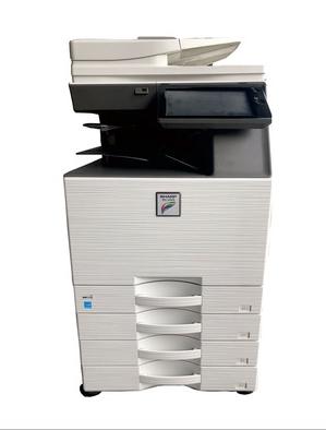 夏普C4081R彩色复印机网络打印复印扫描WiFi