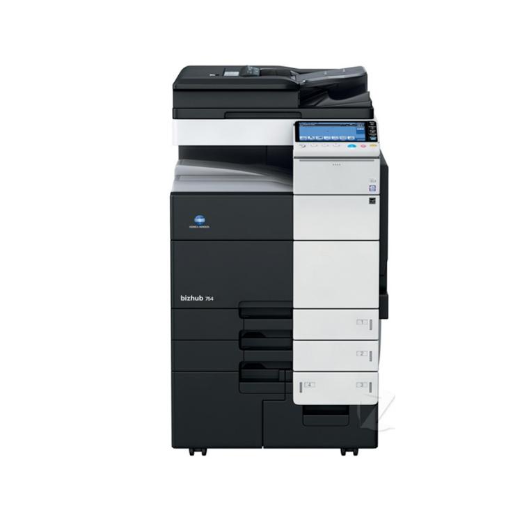 【95新】柯美C754彩机打印机