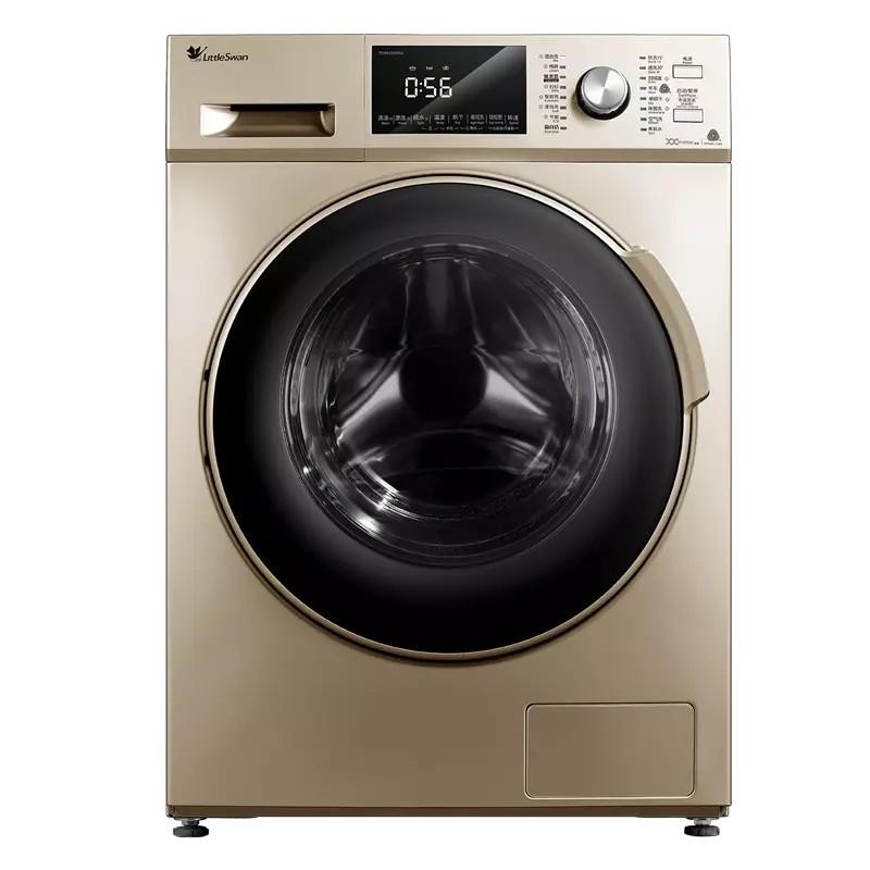 小天鹅10公斤KG全自动带烘干变频滚筒洗衣机TD100V2...