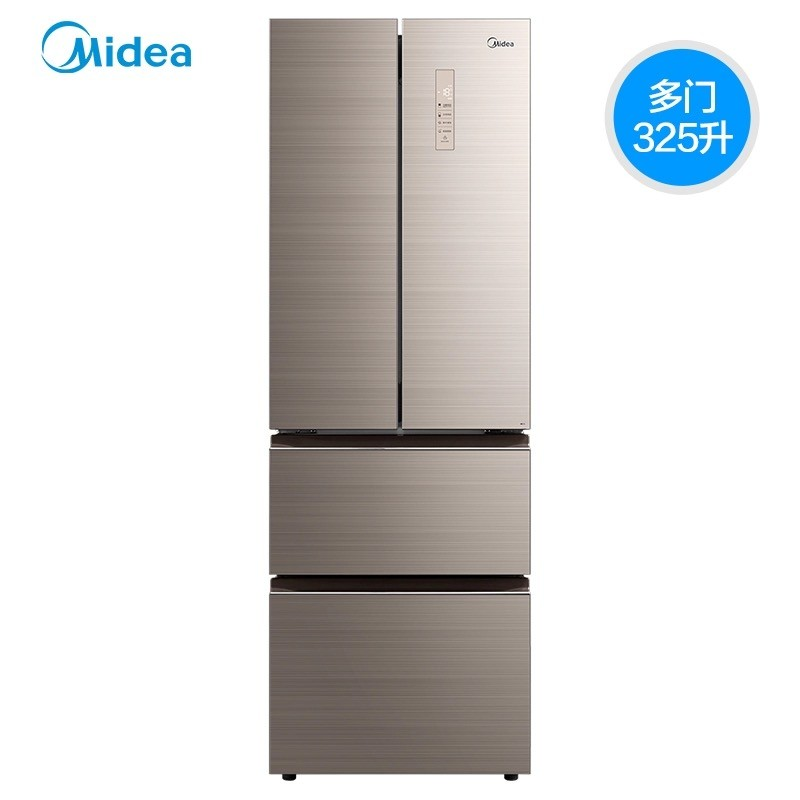 Midea/美的 BCD-325WTGPM 家用多门变频风冷无霜电冰箱