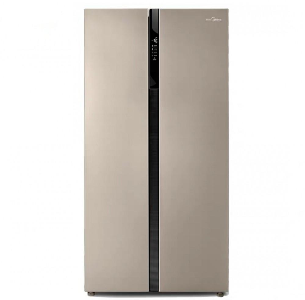 美的 BCD 521WAN超薄双开门家用风冷无霜对开门电冰箱